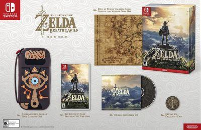 """Breath of the Wild """"Master Edition"""" and """"Special Edition"""" Game Bundles Revealed"""