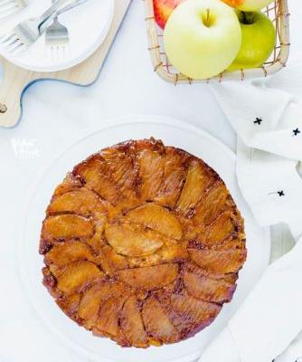 Gluten Free Apple Upside Down Cake