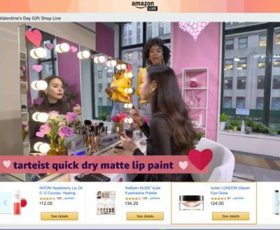 'Amazon Live' is the retailer's latest effort to take on QVC with live-streamed video