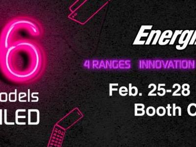 Energizer® Mobile to reveal 26 new products at the Mobile World Congress