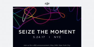 DJI could reveal a tiny drone at New York event in May
