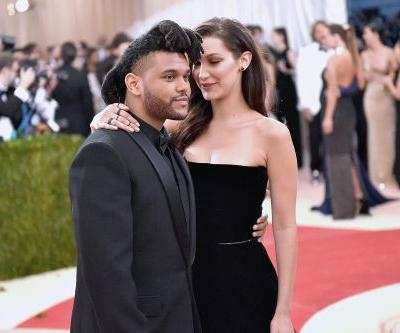 Bella Hadid and The Weeknd leave Cannes party together