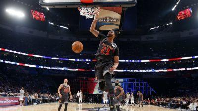 Anthony Davis sets all-star game record with 52 points
