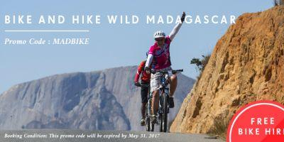 SpiceRoads offers Free Bike Hire for Madagascar Tours