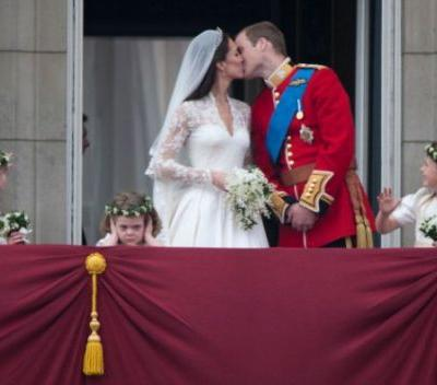 Prince Harry and Meghan Markle's Royal Wedding Kiss Was a Smooch to Remember