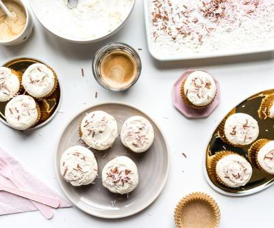 One Bowl Pumpkin Cupcakes with Brown Butter Frosting Recipe + A KitchenAid Giveaway!