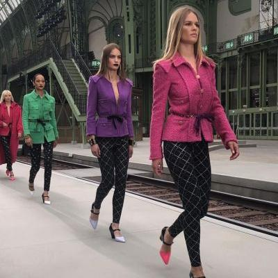 Virginie Viard presents her first solo collection for Chanel