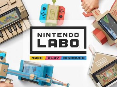 Nintendo is Selling Labo Replacement Parts