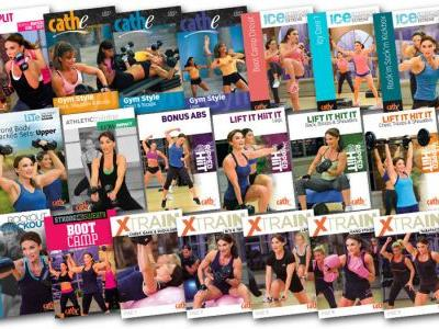 Cathe's September 2019 Workout Rotation