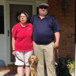Off-leash with the Guiding Eyes staff: Becky Davidson