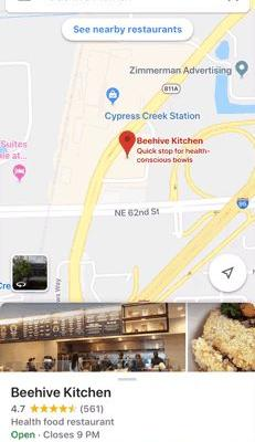 Watch out Facebook, Google Maps on iOS now lets users track their favorite businesses, too