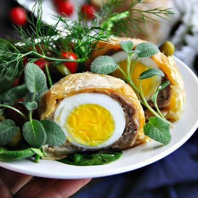Scotch Egg Puff Pastry
