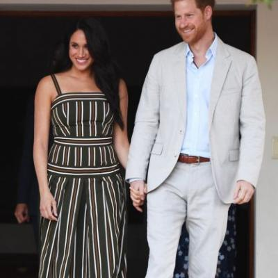 Meghan Markle & Prince Harry Had A Very American Thanksgiving Far From The Palace