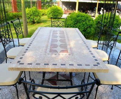 48 Fresh Mosaic Outdoor Dining Table Pics