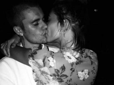 Justin Bieber shares a steamy kiss with wife Hailey Baldwin. See pic