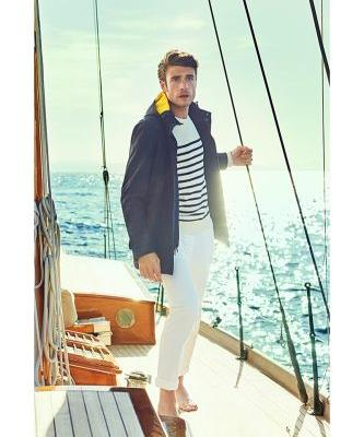 Gaspard Menier & Peter Badenhop Go Nautical for Façonnable Spring '19 Campaign