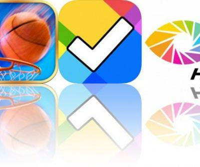Today's Apps Gone Free: iBasket, Everyday and OrasisHD