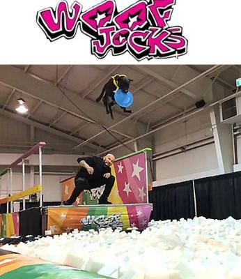 Behind the Scenes at the Amazing New Woofjocks Show