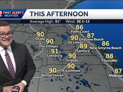 More storms for Father's Day