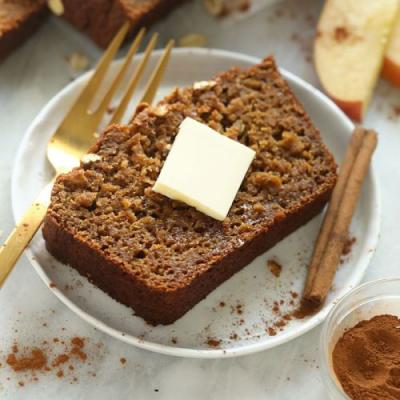 Easy Cinnamon Apple Bread