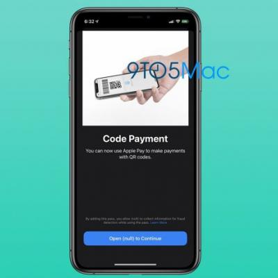 Apple Pay Could Be Used to Make Payments With QR Codes in the Future