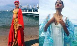 Sonam Kapoor is fire, ice and all things nice on her 3rd day at the Cannes Film Festival