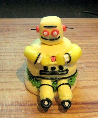 Instructables Robot Cupcake