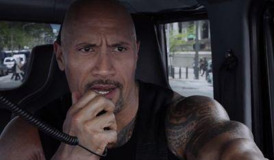 The Rock Shares Photos From The Set Of His New Wrestling Movie