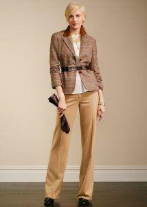 What To Wear With Brown Slacks