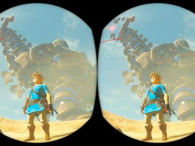 The Legend of Zelda: Breath of the Wild And Nintendo Labo Toy-Con 04: VR Kit Details Released