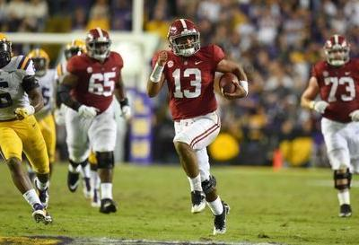 Top 25 roundup: No. 1 Alabama shuts out No. 3 LSU in laugher