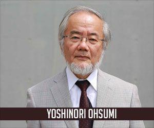 Nobel Prize 2016 in Medicine Goes to Japanese Yoshinori Ohsumi for Work on Autophagy