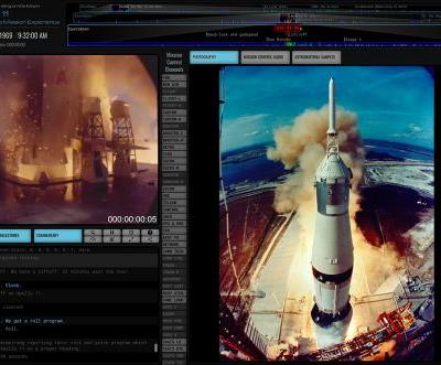New Website Replays Apollo 11 First Moon Landing Mission in Real Time