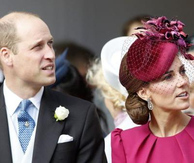 Prince William and Kate Middleton shared a rare moment of PDA at Princess Eugenie's wedding and fans couldn't be happier