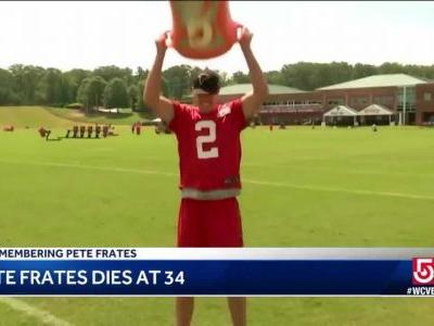 City landmarks honor Pete Frates