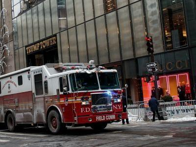 A Fire Broke out on the Roof of Trump Tower in NYC - and the Internet Has Some Thoughts
