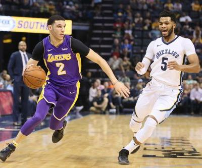 Los Angeles Lakers' Lonzo Ball to undergo arthroscopic surgery on left knee
