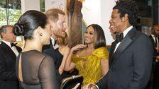 Meghan Markle, Beyoncé, Jay-Z And Prince Harry Had The Sweetest Conversation
