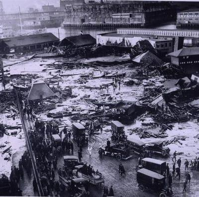 100 years ago: Boston's Great Molasses Flood of 1919