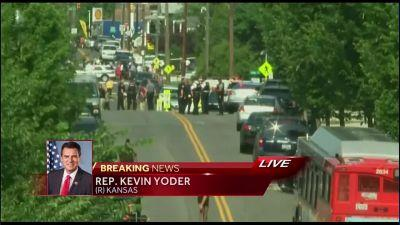 Rep. Yoder reacts to this morning's shooting, being on ball team