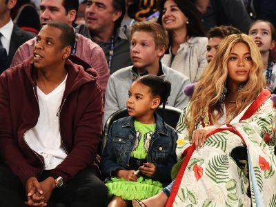 Blue Ivy Stole The Show At The NBA All-Star Game