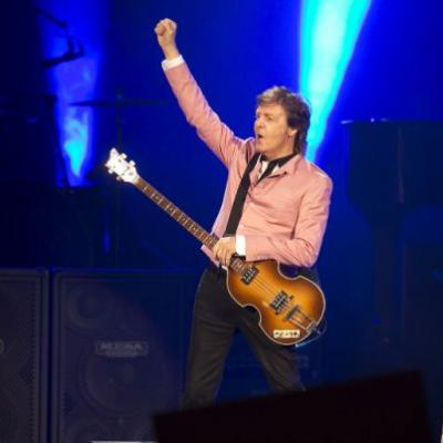 He'll be at ACL Fest this fall, but Paul McCartney has two new songs out now