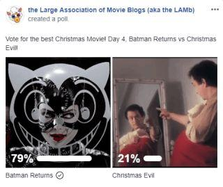 LAMBracket: Best Christmas Movie Play-Off 4 Results