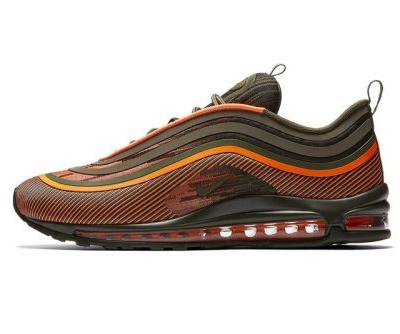 """Nike's Air Max 97 Ultra '17 Channels Military """"Flight Jacket"""" Colors"""