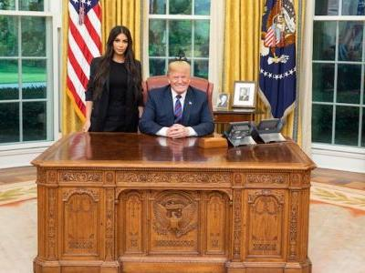 """Kim Kardashian Has a Bizarre Reaction When Told She Was """"Used"""" by Donald Trump"""