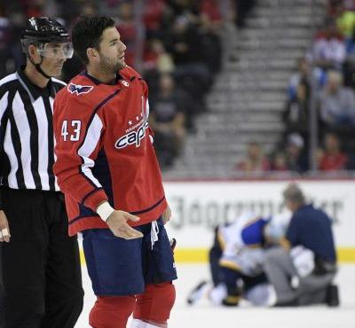 Caps' Wilson has suspension cut to 14 games by arbitrator