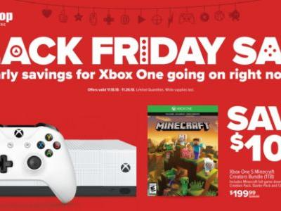 GameStop's Pre-Black Friday 2018 ad has deals on consoles and games
