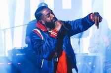 Watch Nipsey Hussle Diss Kanye West During Broccoli City Festival Performance
