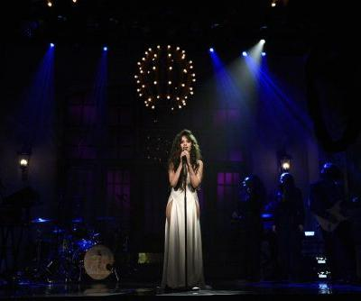 """It's """"Easy"""" to See Why We Can't Stop Thinking About Camila Cabello's Sexy, Plunging SNL Dress"""