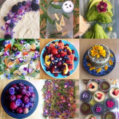 How to make food and meals more colourful, naturally
